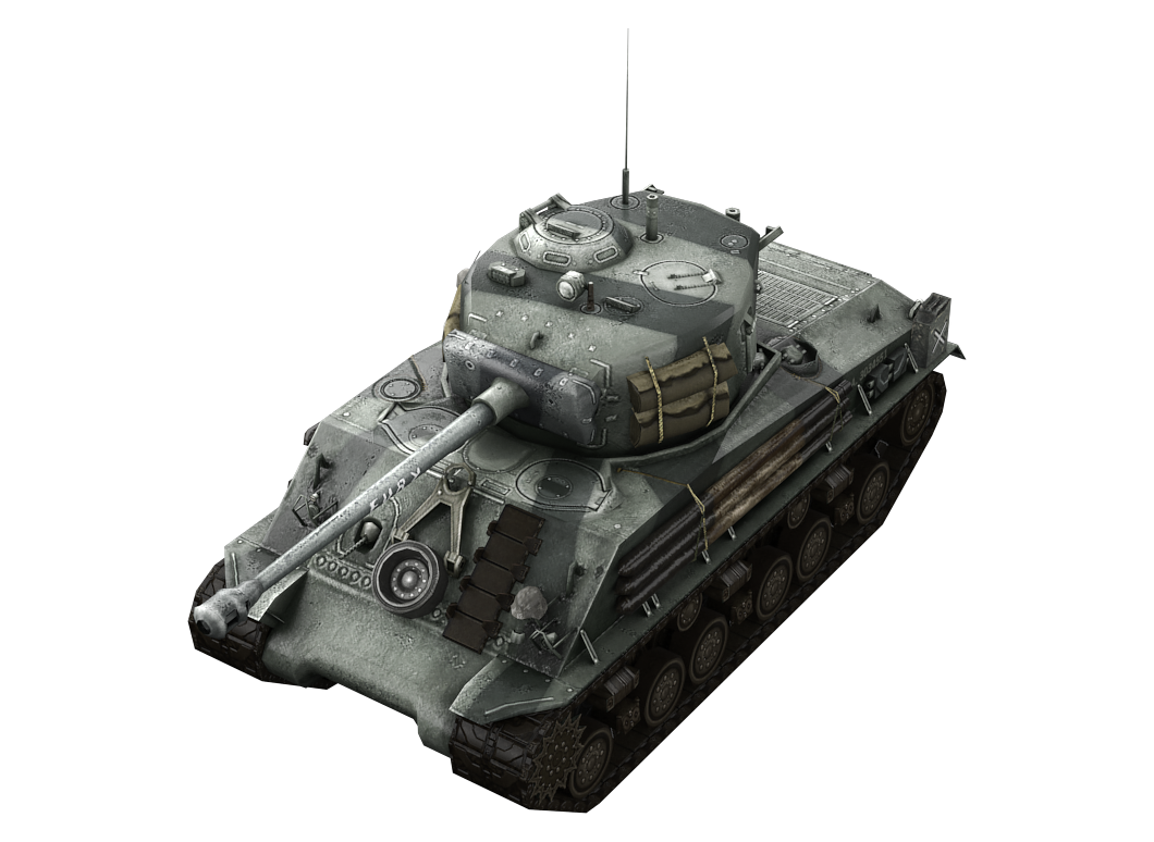 M4A3E8 Fury в World of Tanks Blitz