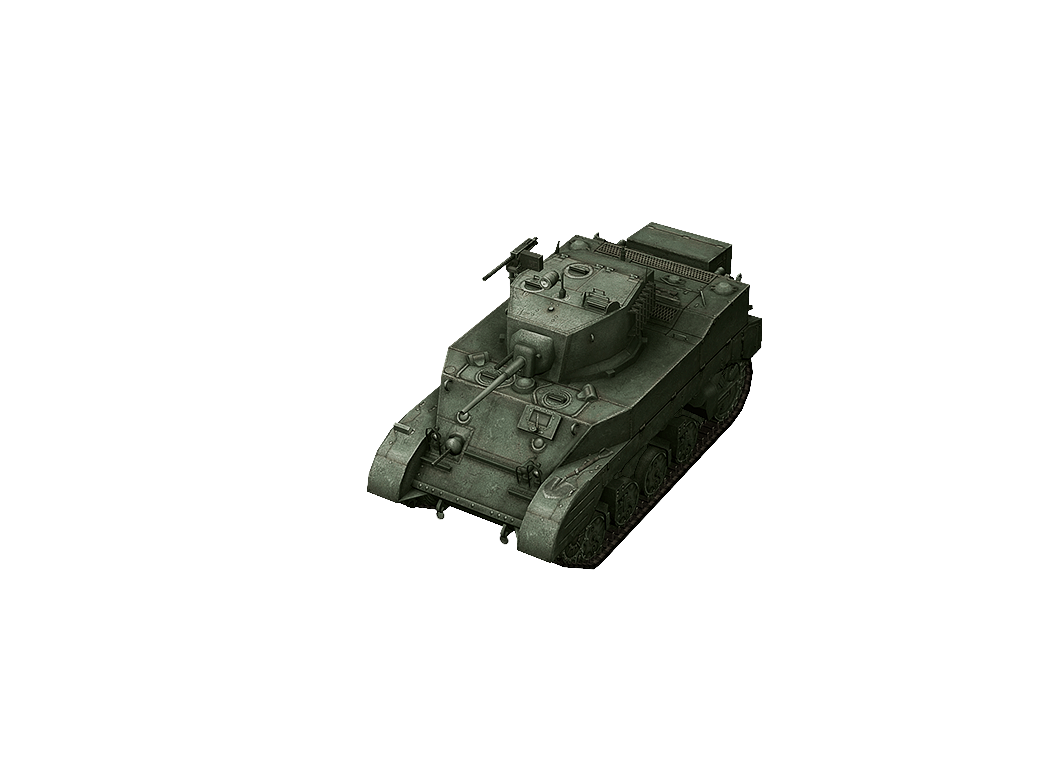 M5A1 Stuart в World of Tanks Blitz