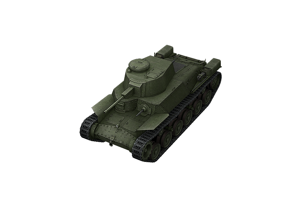 Type 97 Chi-Ha в World of Tanks Blitz