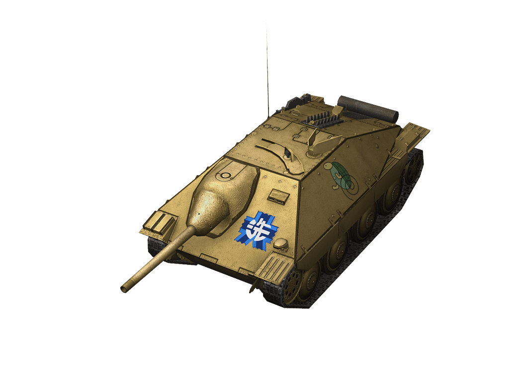 Hetzer Kame SP в World of Tanks Blitz