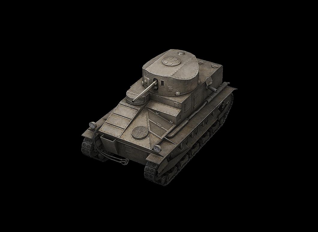 Vickers Medium Mk. I в World of Tanks Blitz