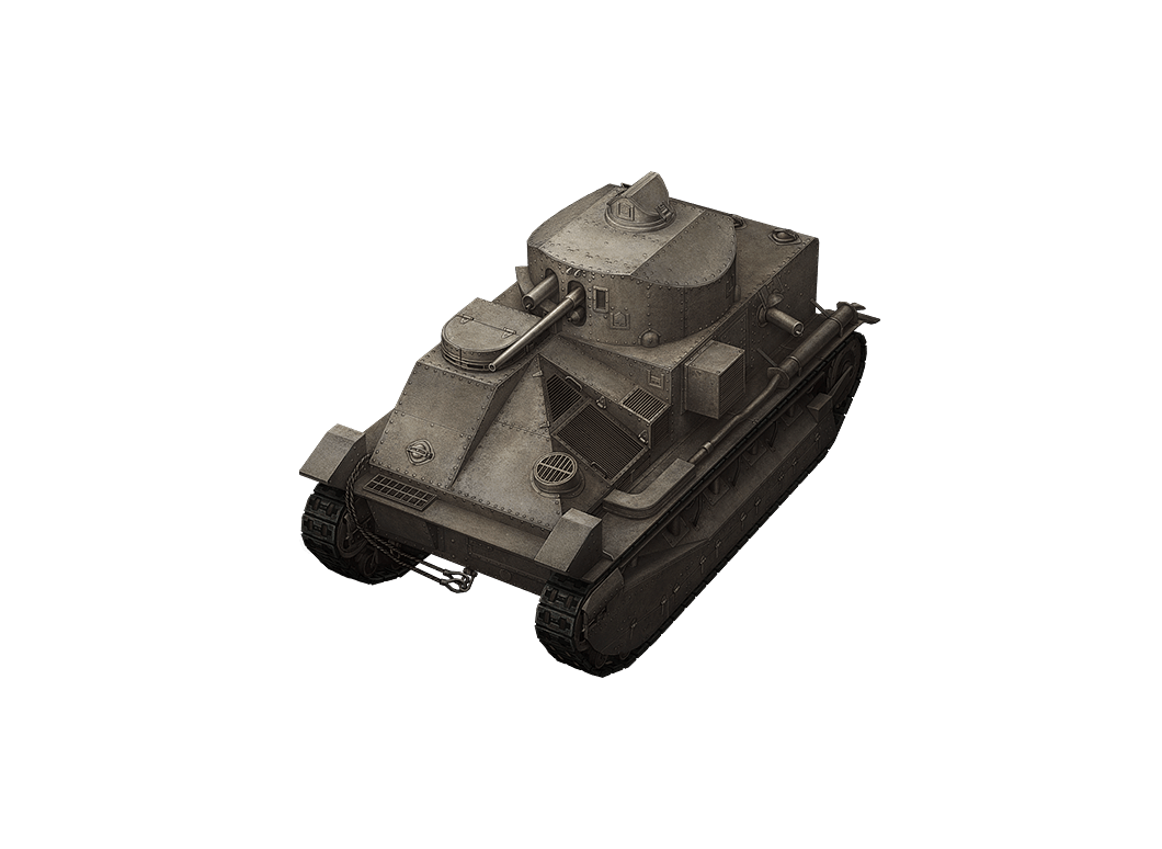 Vickers Medium Mk. II в World of Tanks Blitz