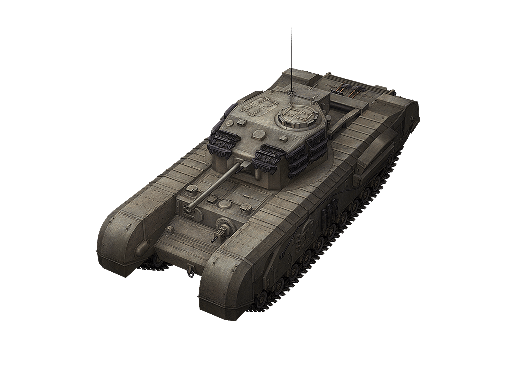 Churchill VII в World of Tanks Blitz