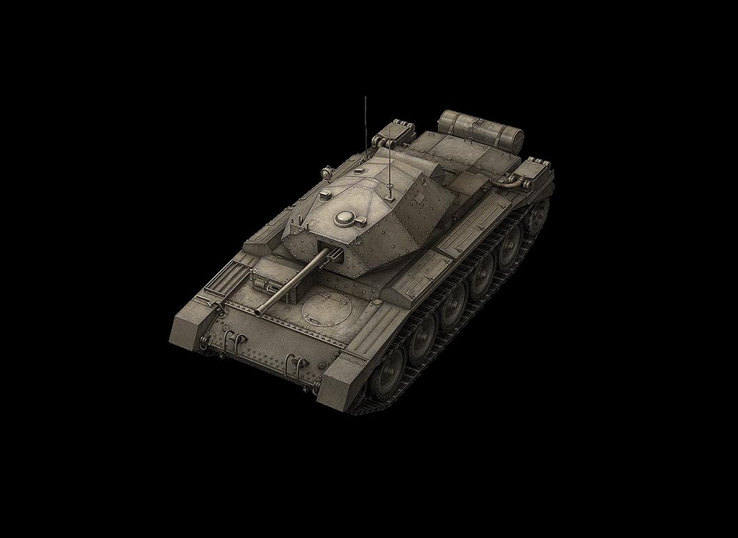 Crusader в World of Tanks Blitz