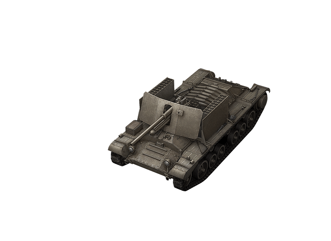 Valentine AT в World of Tanks Blitz