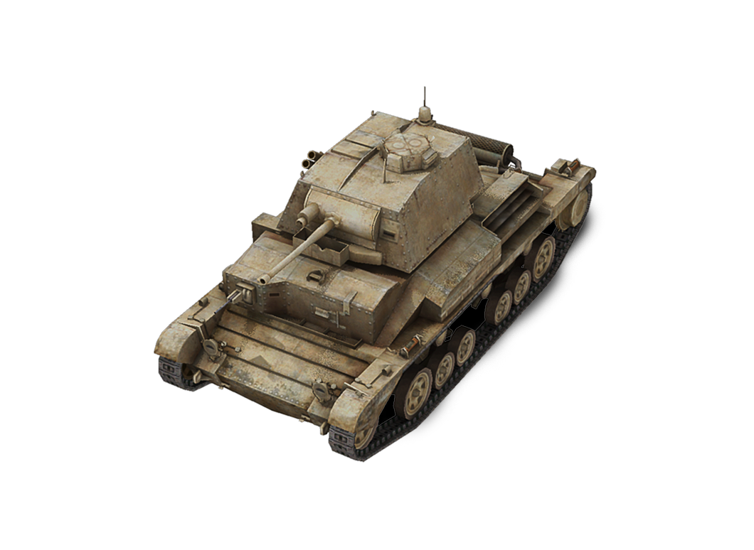 Cruiser Mk. II в World of Tanks Blitz
