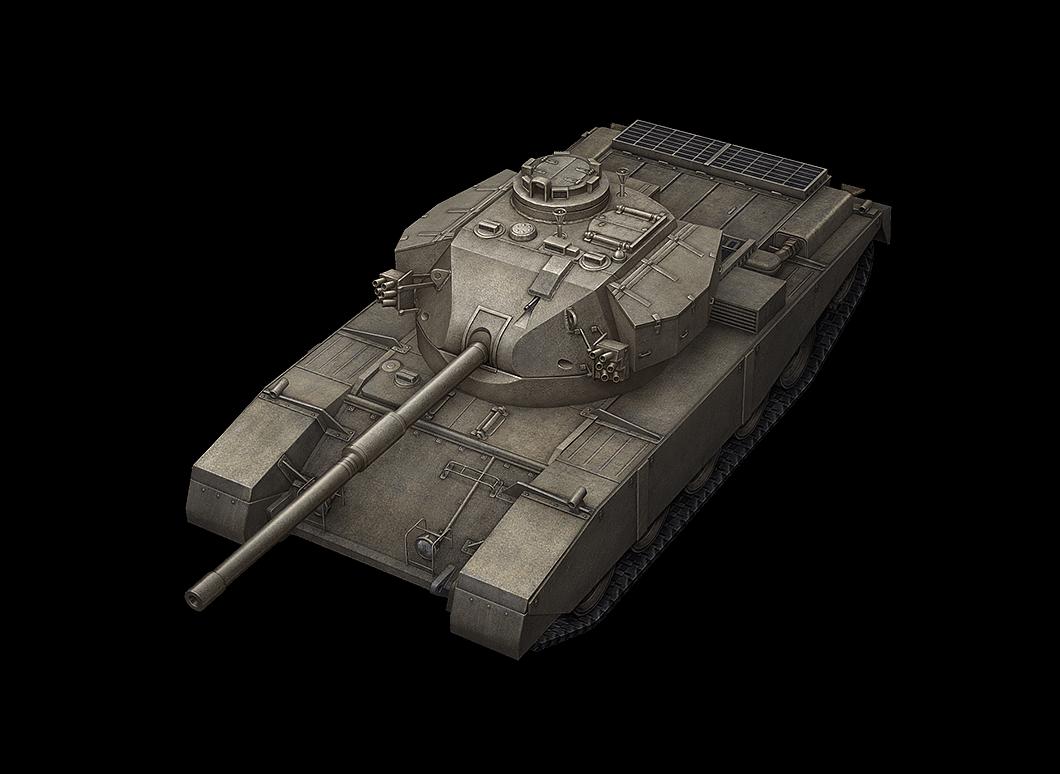 FV4202 в World of Tanks Blitz