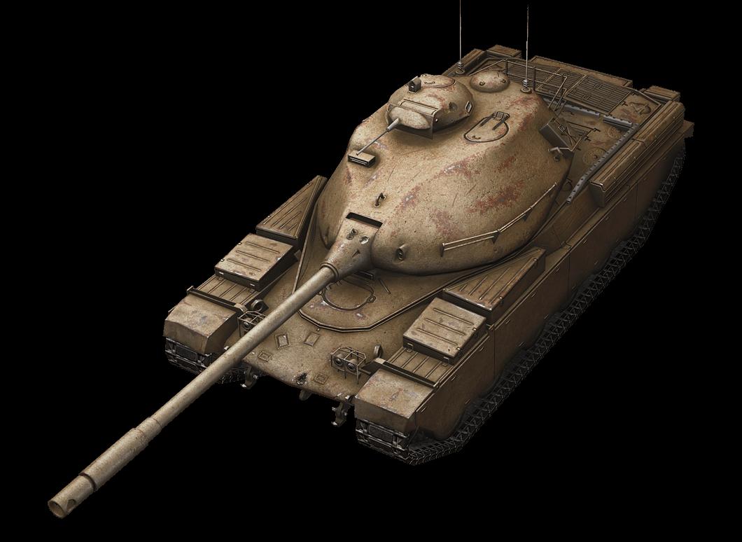 Chieftain/T95 в World of Tanks Blitz
