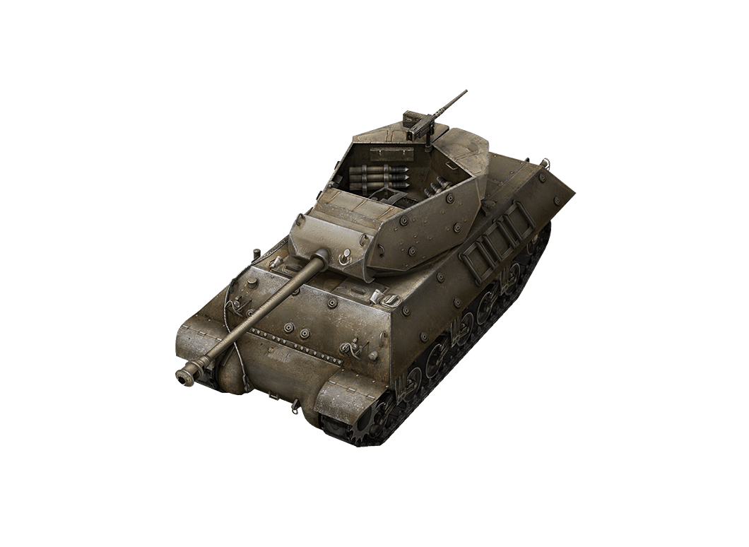 M10 Wolverine в World of Tanks Blitz