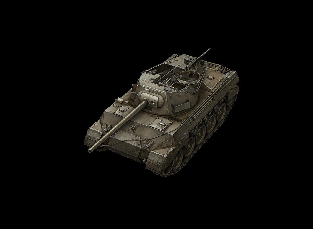 M18 Hellcat в World of Tanks Blitz