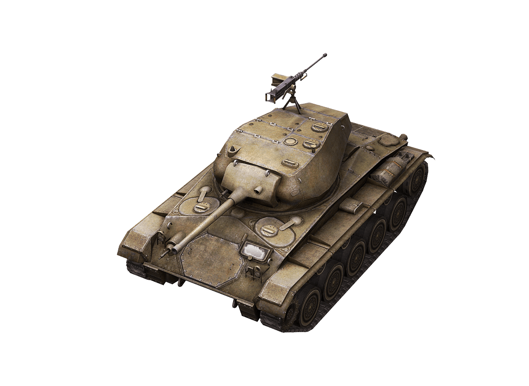 M24 Chaffee в World of Tanks Blitz