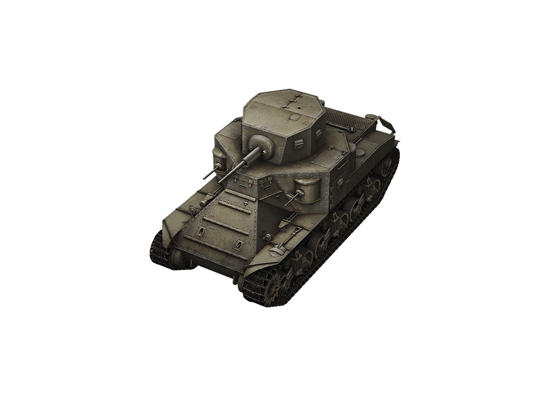 M2 Medium Tank в World of Tanks Blitz
