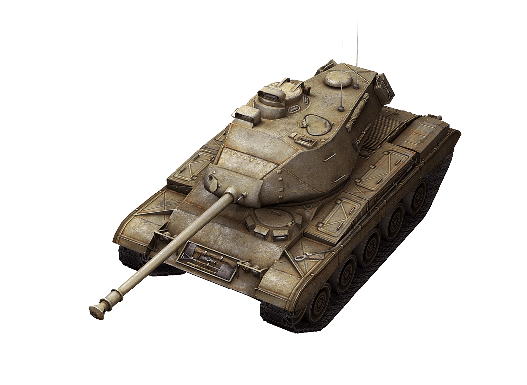 M41 Walker Bulldog в World of Tanks Blitz