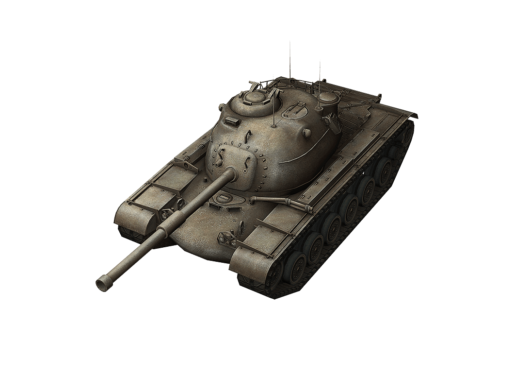 M48A1 Patton в World of Tanks Blitz