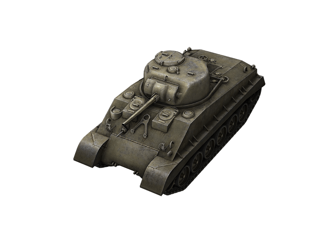 M4A2E4 Sherman в World of Tanks Blitz