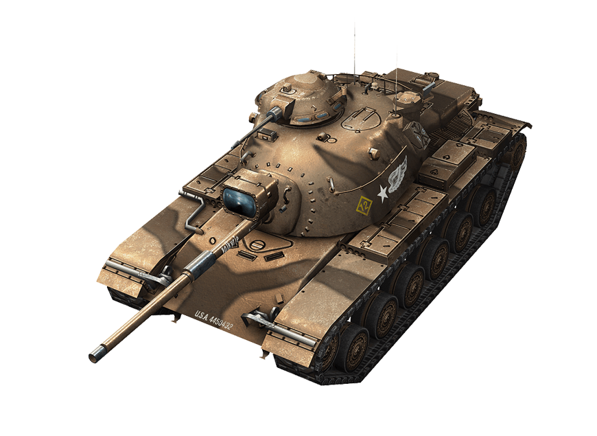 M60 в World of Tanks Blitz