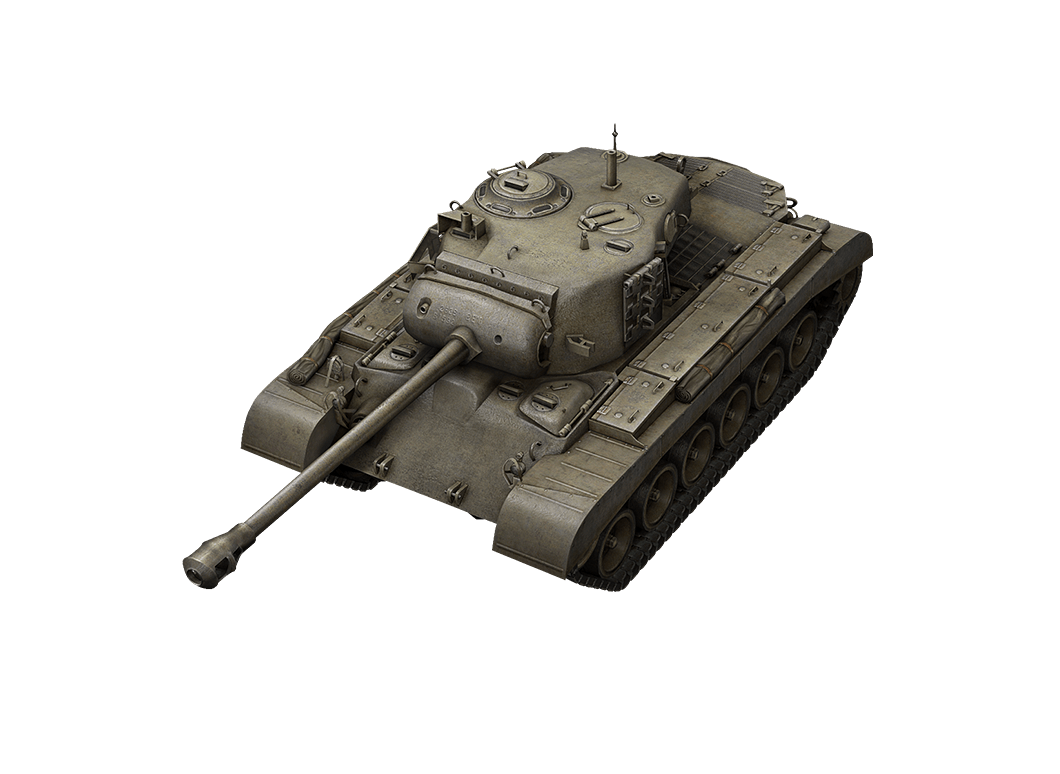 M26 Pershing в World of Tanks Blitz