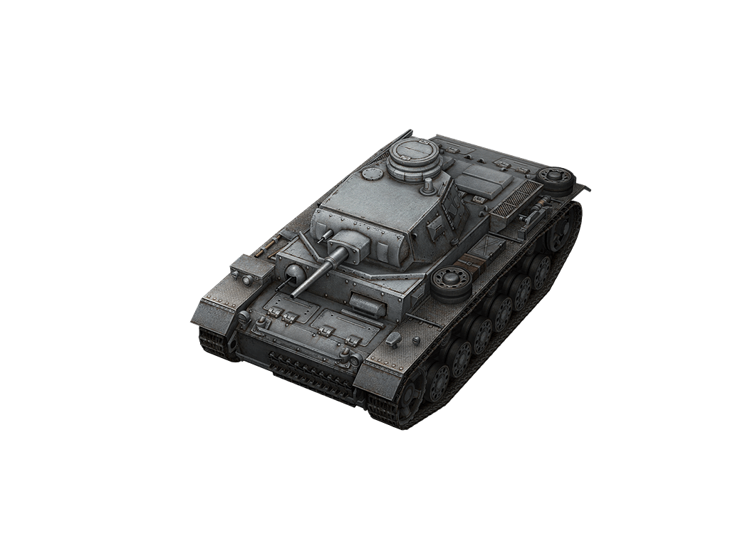 Pz.Kpfw. III в World of Tanks Blitz