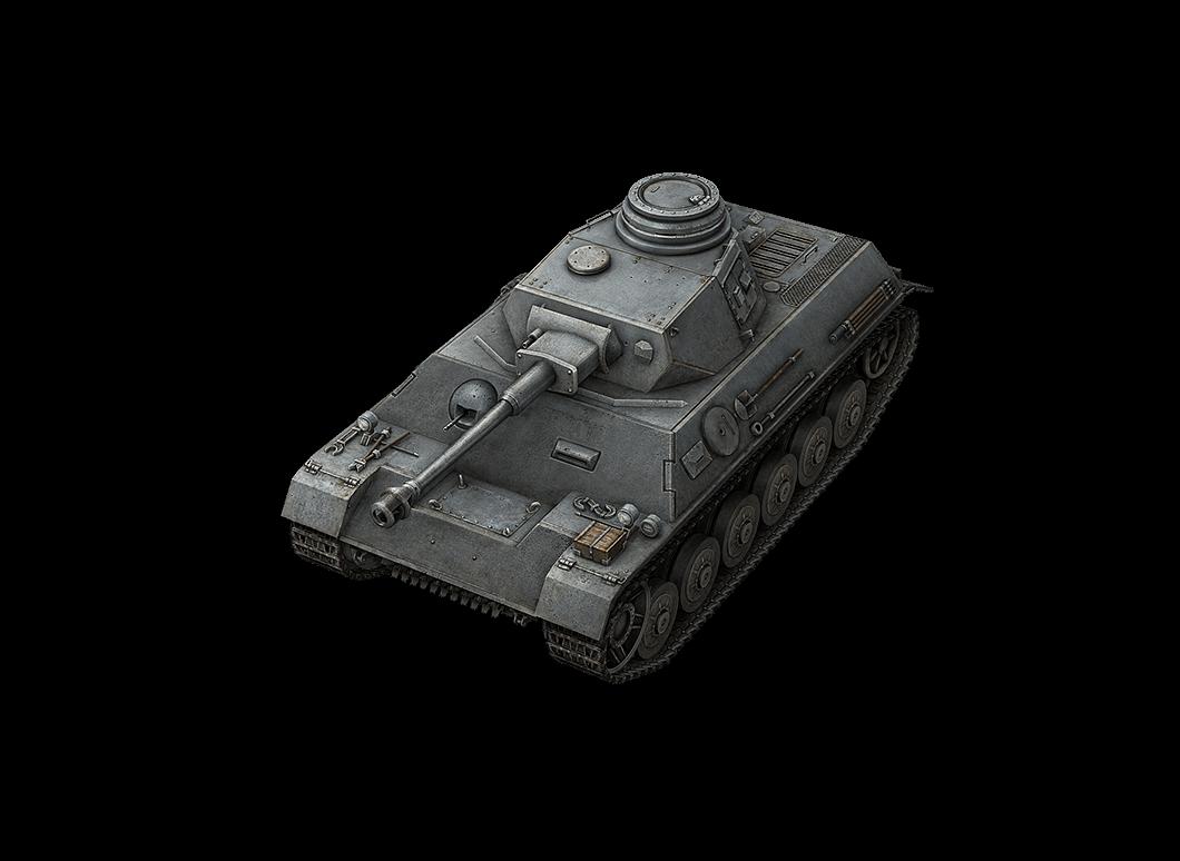 Pz.Kpfw. III/IV в World of Tanks Blitz