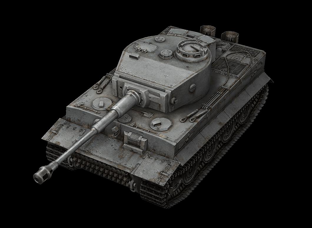 Tiger I в World of Tanks Blitz