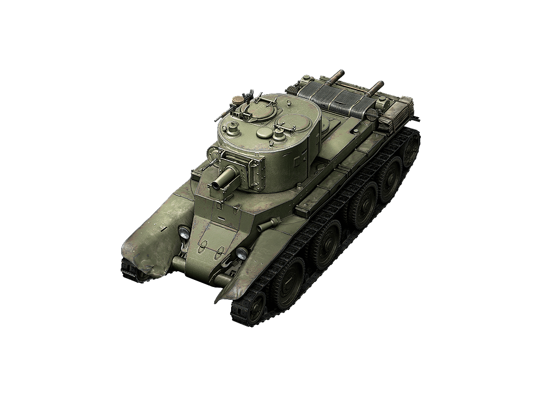 BT-7 artillery в World of Tanks Blitz