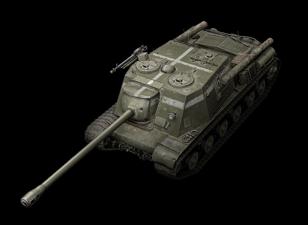 ISU-122S в World of Tanks Blitz