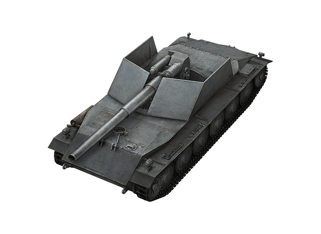 Rhm.-Borsig Waffenträger в World of Tanks Blitz