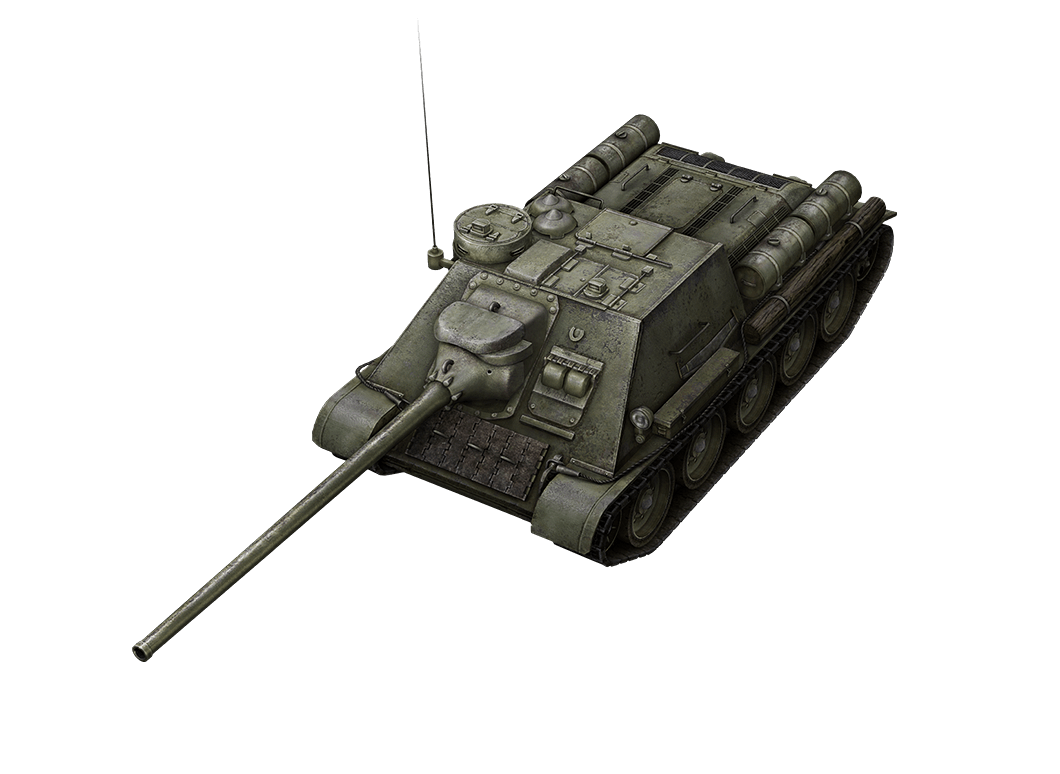 SU-100 в World of Tanks Blitz