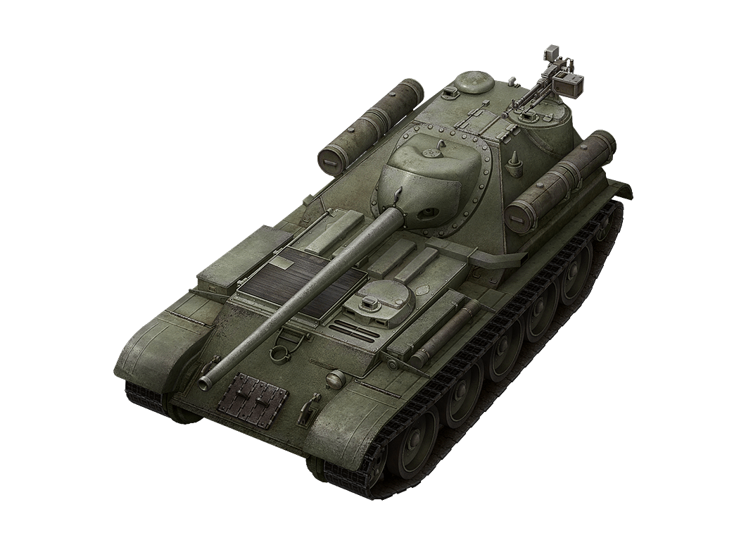 SU-101 в World of Tanks Blitz