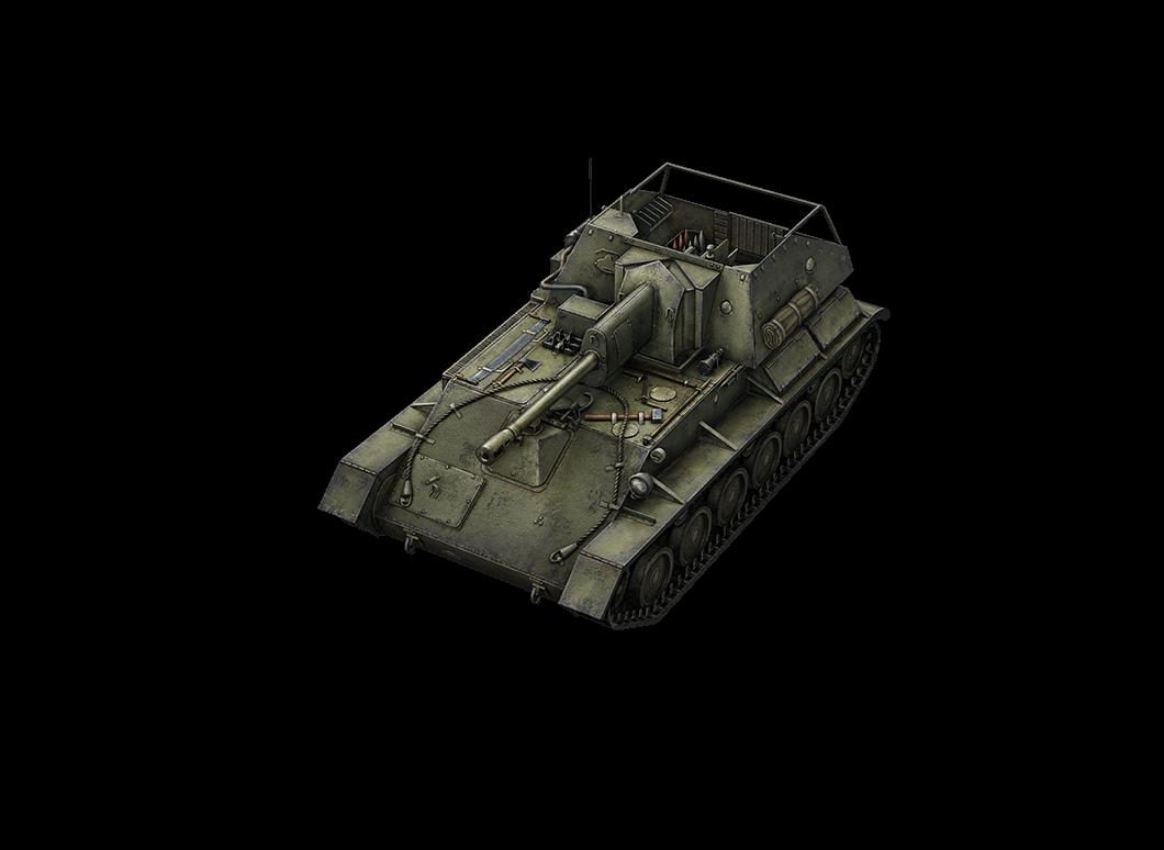 SU-76 в World of Tanks Blitz