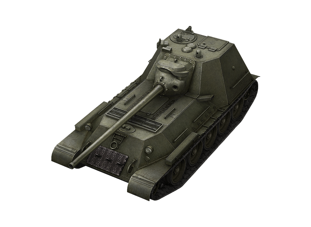 SU-100M1 в World of Tanks Blitz