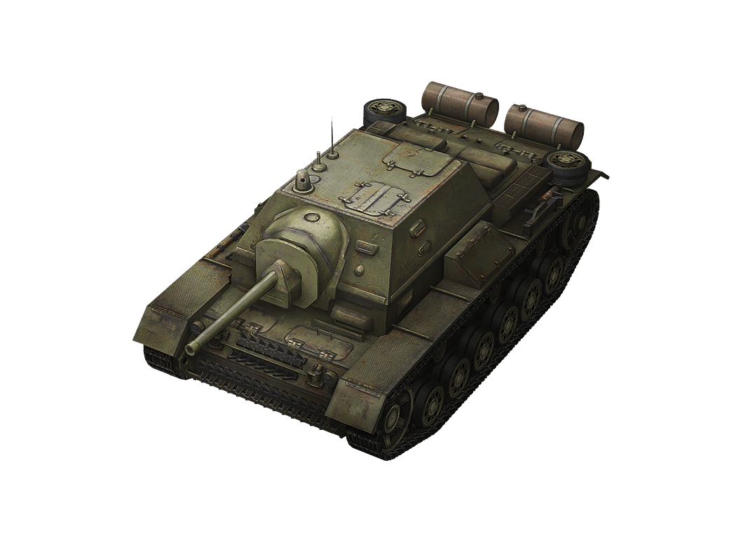 SU-76I в World of Tanks Blitz