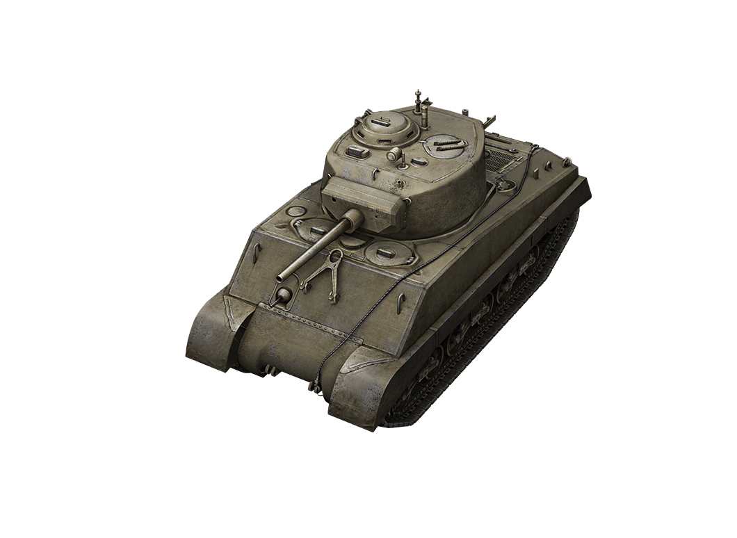 M4A3E2 Sherman Jumbo в World of Tanks Blitz