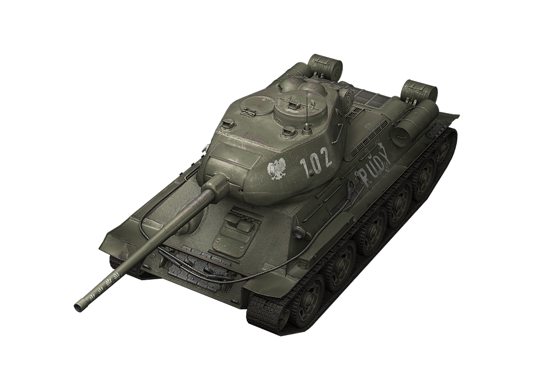 T-34-85 Rudy в World of Tanks Blitz