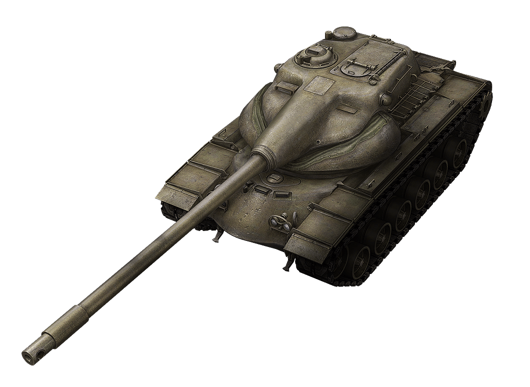 T54E1 в World of Tanks Blitz