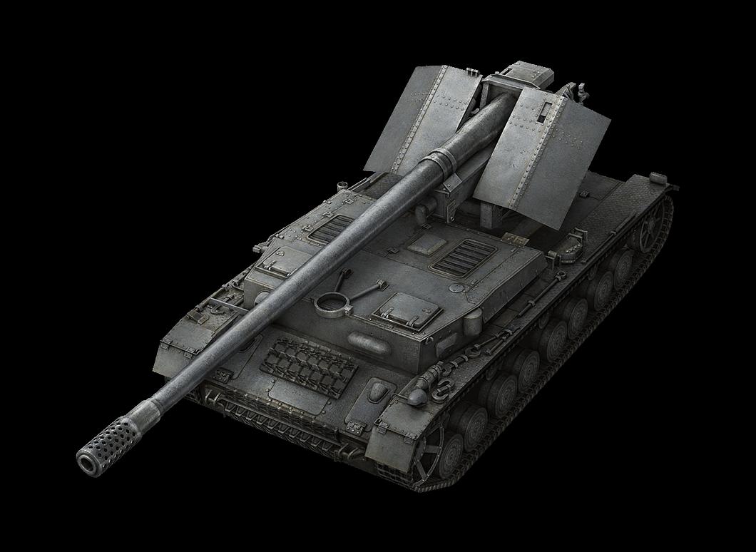 Waffenträger auf Pz. IV в World of Tanks Blitz